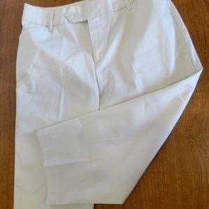 St John's Bay Ladies' Stretch Capris Off White 8